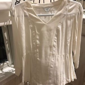 Baby doll top from Crown and Ivy. NWOT